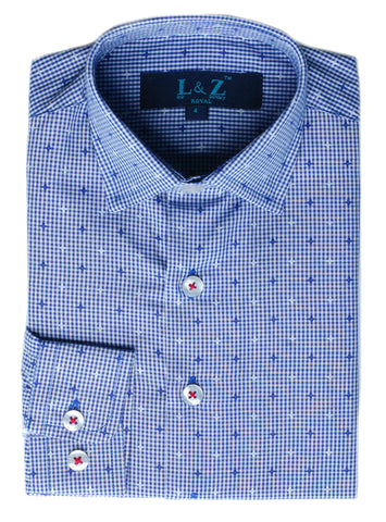 Boy's Michael Kors Shirt- SSSYZ249PT