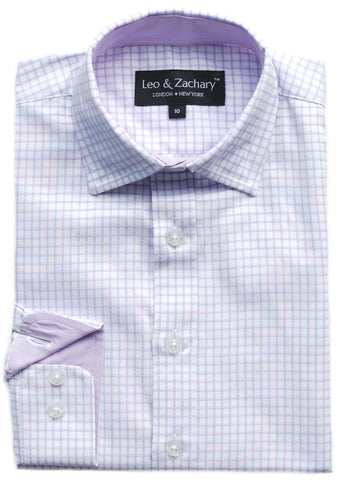 Boy's Leo & Zachary Shirt- SS5702PO