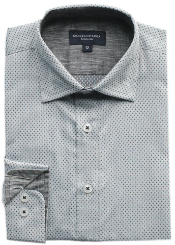Boy's Michael Kors Shirt- SSSYZ279LI