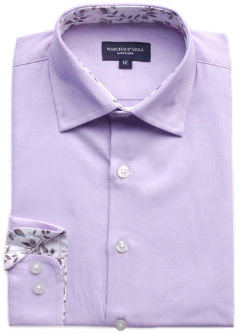 Boy's Michael Kors Shirt- SSSYZ208BL