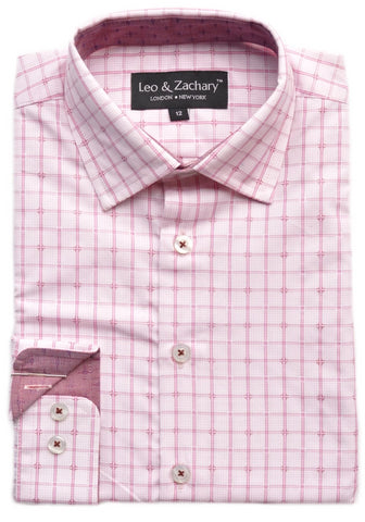 Junior Boy's Leo & Zachary Shirt- KS5711CH