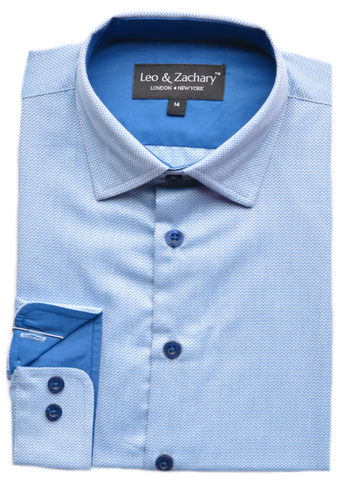Boy's Marc New York | Andrew Marc Shirt- Slim Fit- DSMAS010WH