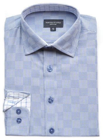 Junior Boy's Leo & Zachary Shirt-KS5725LI