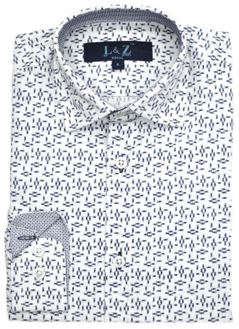 Junior Boys' Isaac Mizrahi Shirt- KS9543ST