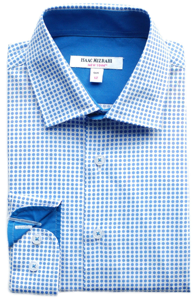 Junior Boy's Isaac Mizrahi Shirt- KSS9510PT