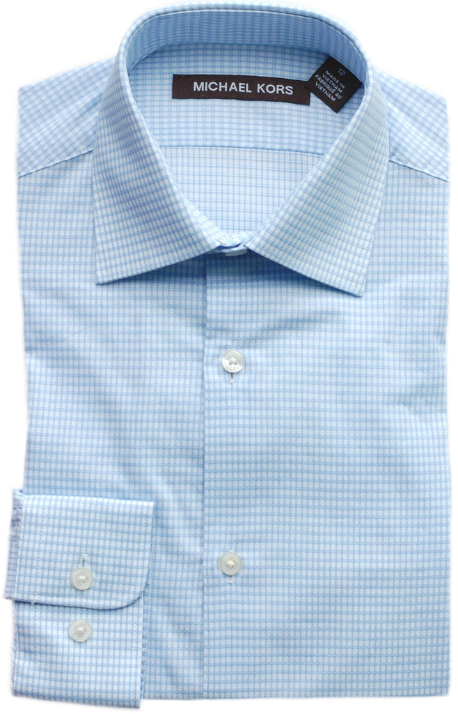 Boy's Michael Kors Shirt- SSSYZ268BL