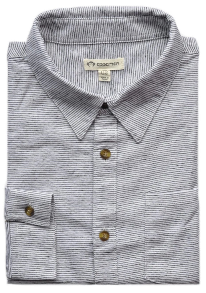 Boy's Appaman Shirt- SSU9RESDG