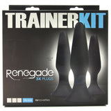 Renegade Silicone Anal Trainer Kit in Black