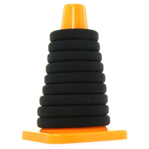 Play Zone Xact-Fit 9 Piece Cock Ring Cone