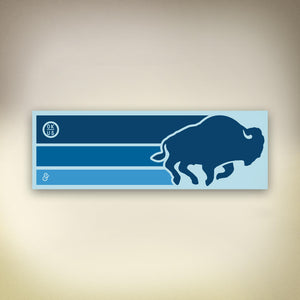 Buffalo Run Sticker