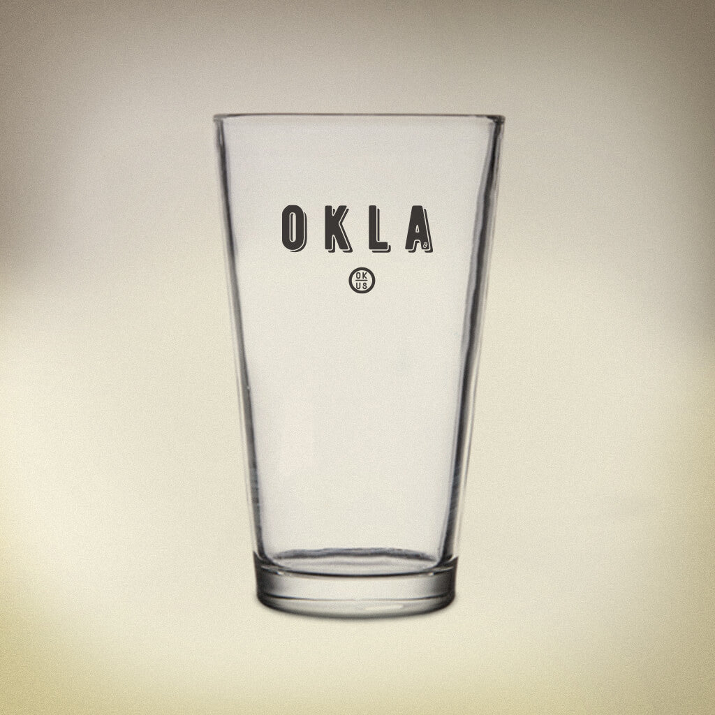 OKLA Pint Glass