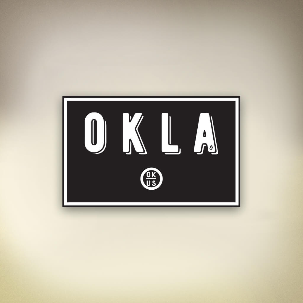OKLA Sticker