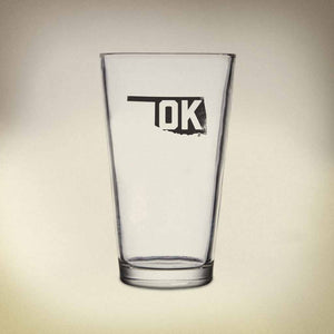 OK Pride Pint Glass