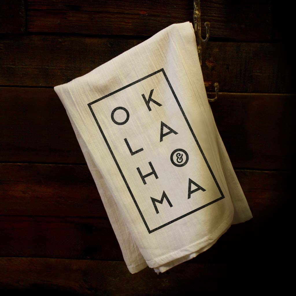 OK Stacked Dish Towel