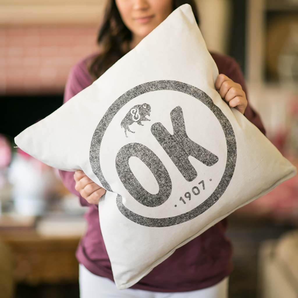 OK Stamp Pillow