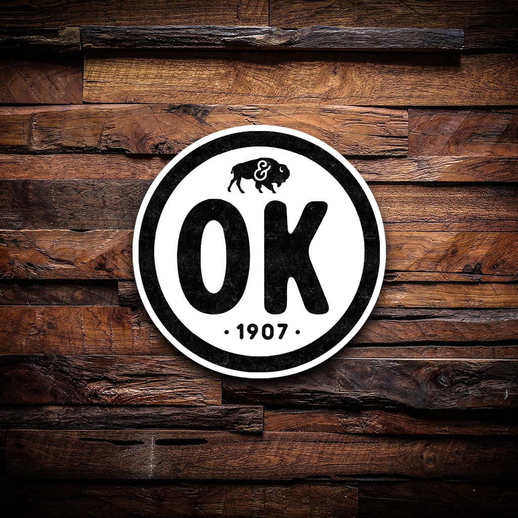 OK Stamp Sticker