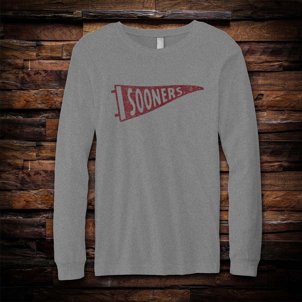 OU Pennant Long Sleeve Tee