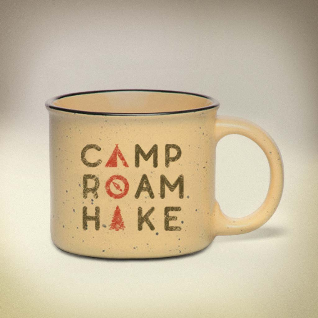 Camp Roam Hike Mug