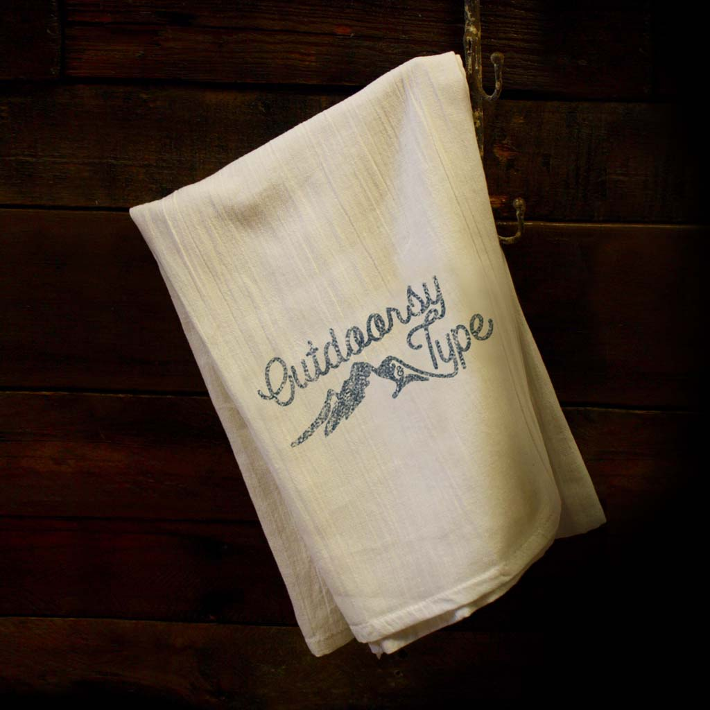 Outdoorsy Dish Towel