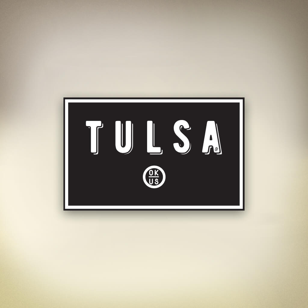 Tulsa Sticker