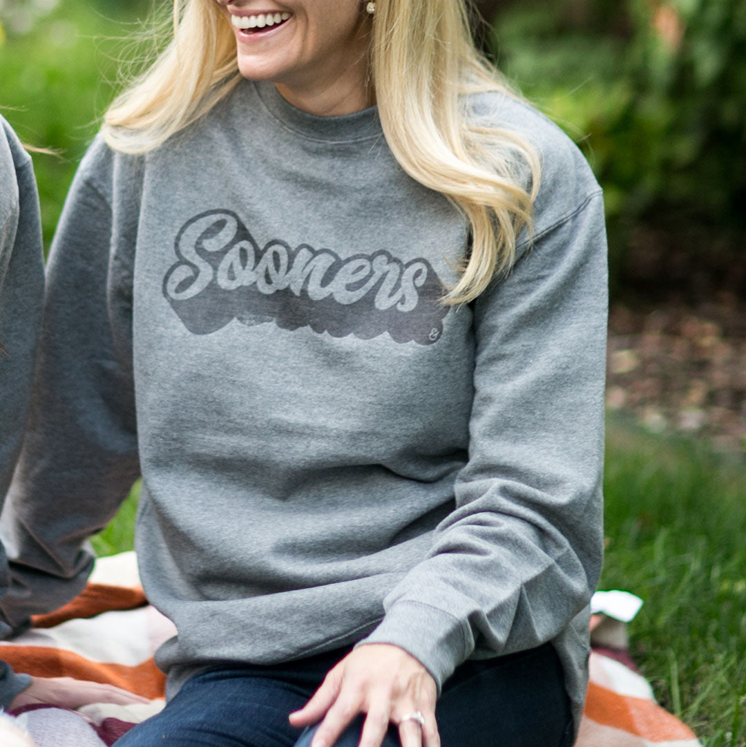 Sooner Script Fleece