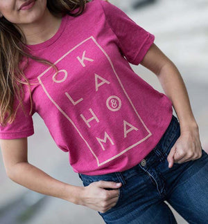 Stacked OK Tee
