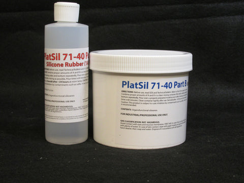 PlatSil 71-40 Quart Kit (2.4 lbs)