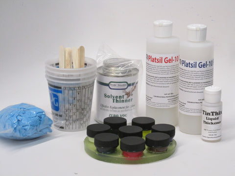 PlatSil Silicone Painting Kit