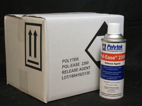 Pol-Ease 2300 Release - Case of 12 Spray Cans