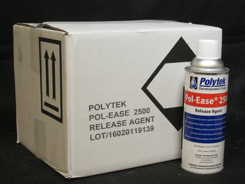 Pol-Ease 2500 Release - Case of 12 Spray Cans