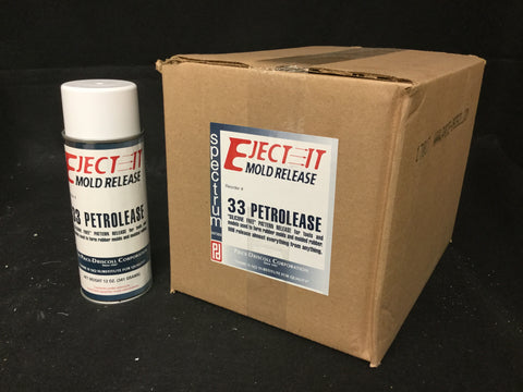 Eject-it 33 Mold Release Case 12 Cans