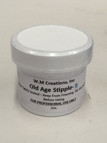 W.M. Creations Old Age Stipple B 2oz.