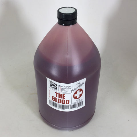 EBA Transfusion Premium Blood 1 Gallon - 4 Colors