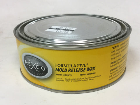 FORMULA FIVE® MOLD RELEASE WAX