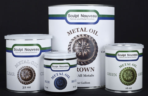 Metal Oil 8oz