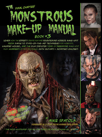 Monstrous Makeup Book 3