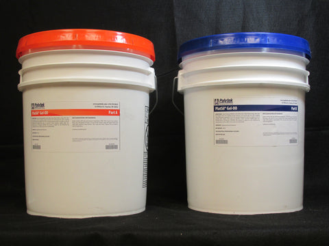 PlatSil Gel-00 - 5 Gallon Kit (80 Lbs)