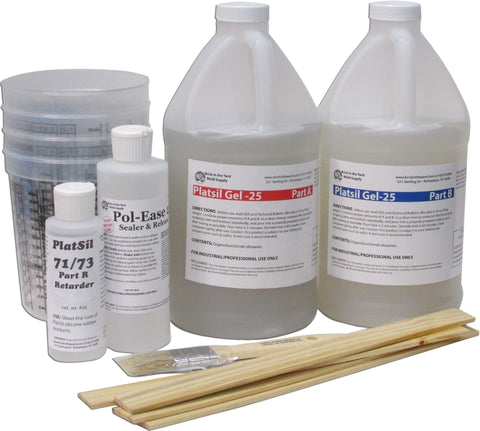 PlatSil Gel-25 Molding Kit