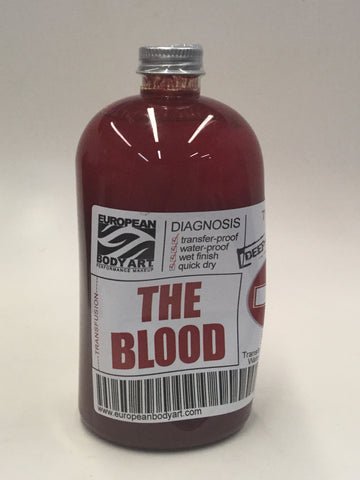 EBA Transfusion Premium Blood 16oz - 4 Colors