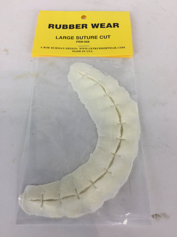 Large Suture Cut