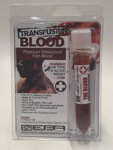 EBA Blood Vial - 4 Colors