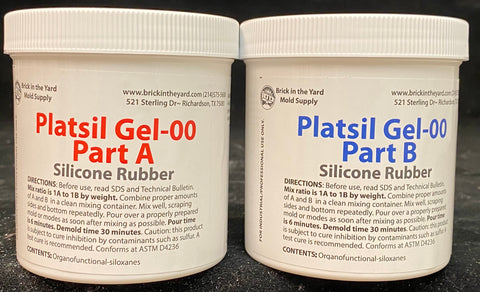PlatSil Gel-00 - All Kit Sizes
