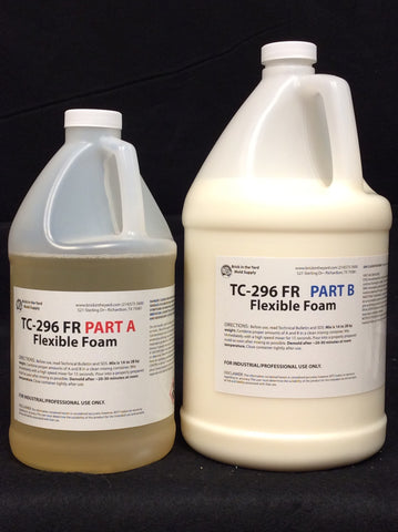 TC-296 FR Fire Retardant Flexible Foam Gallon Kit