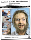 Prosthetic Character Make-up Creation Book By Matthew Mungle USPS Shipping Included