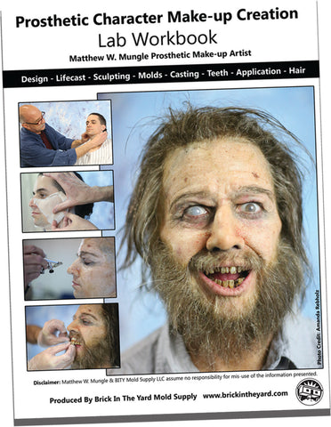 Prosthetic Character Make-up Creation Book By Matthew Mungle