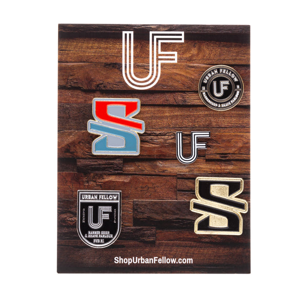 Urban Fellow Signature Pins (5 Pack)