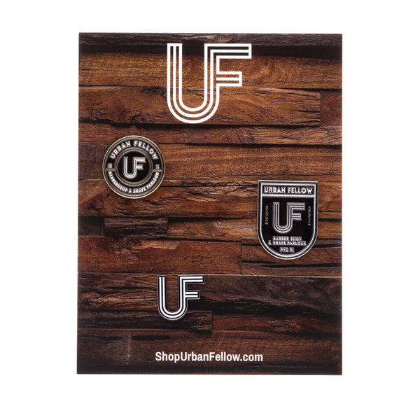 Urban Fellow Signature Pins (3 Pack)