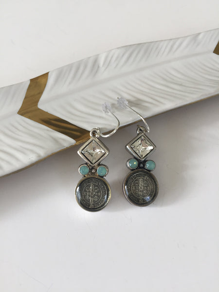 San Benito Square Earrings