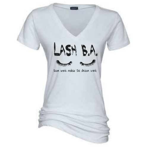 Team Lash B.A V NECK TEES