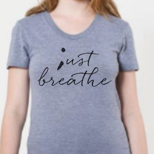 Just Breathe - semicolon - ;ust breathe